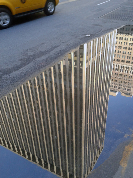 Madison Square Garden Reflections