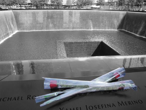 9/11 Memorial Roses